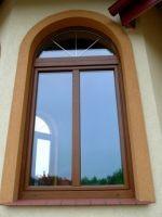 okna półokrąg