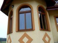 okna domy jednorodzinne